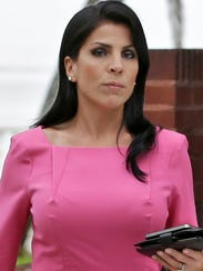 Tampa socialite Jill Kelley, who received harassing