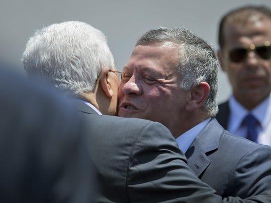 Abdullah II,Mahmoud Abbas