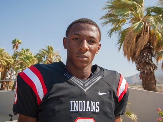 Palm Springs senior defensive standout Trenton Thompson is a member of the 2015 All-Desert Sun first team.