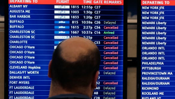 airlines cancellations
