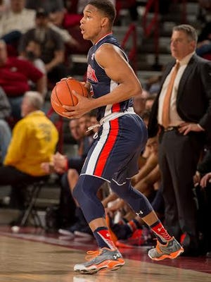 Auburn guard Bryce Brown led all scorers with 27 points on 9 of 14 3-pointers in a 9-86 victory at Arkansas Wednesday.