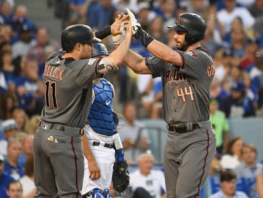 MLB: NLDS-Arizona Diamondbacks at Los Angeles Dodgers
