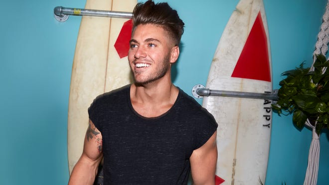 "Gus Smyrnios from Perry, Florida, is on MTV's first season of ""Floribama Shore."""