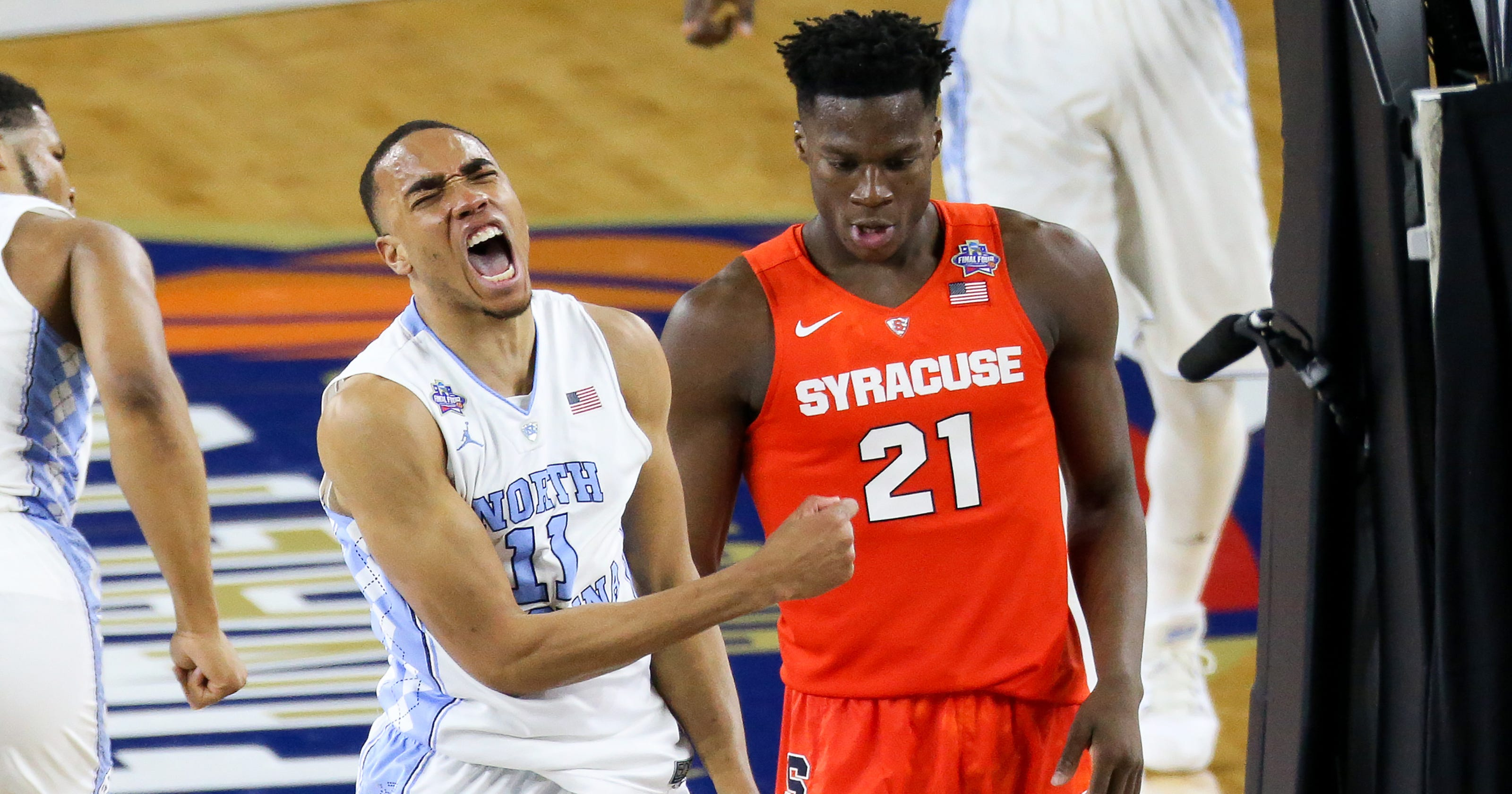 cabe0a360688 Syracuse s historic run ended by UNC in Final Four