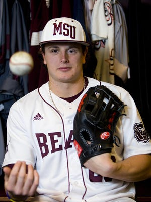 Missouri State centerfielder Tate Matheny signed a professional contract with the Boston Red Sox following the June 2015 Major League Baseball draft.