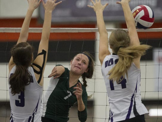 Jenna Rombalski helped the Evergreens to a strong performance