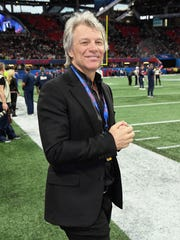 Jon Bon Jovi attends the Super Bowl LIII Pregame at