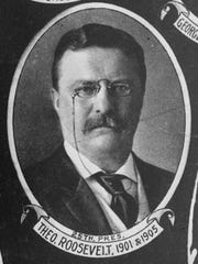 Theodore Roosevelt, former U.S. president, is shown in this undated photo.