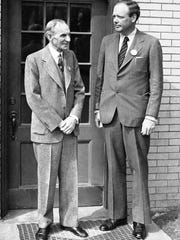 Henry Ford hired the 40-year-old Lindbergh in 1942