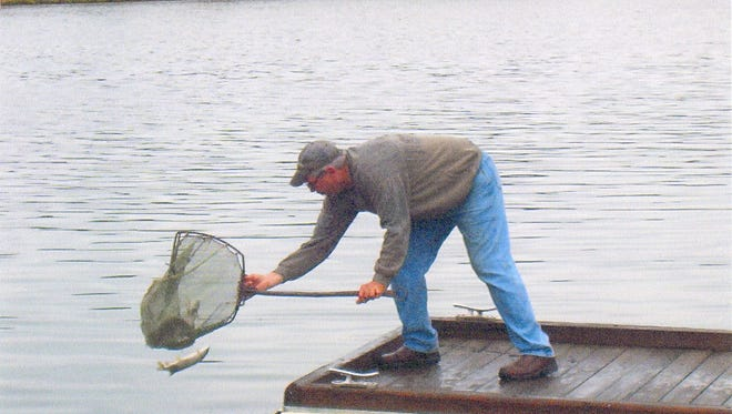 Lake Dexter will begin a draw down on Monday.