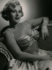 Zsa Zsa Gabor is shown in a 1953 publicity photo.