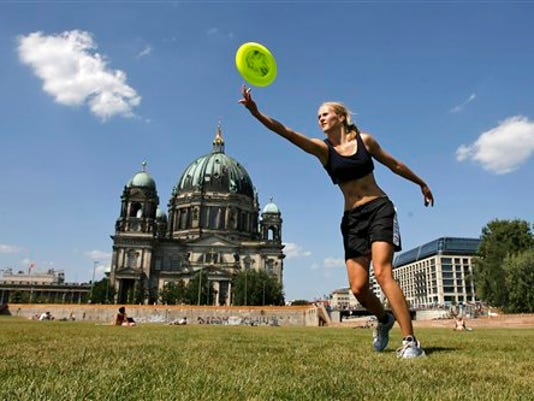 Don't feel like you can keep up? It's normal to have to adjust as you age. (AP Photo/Maya Hitij)