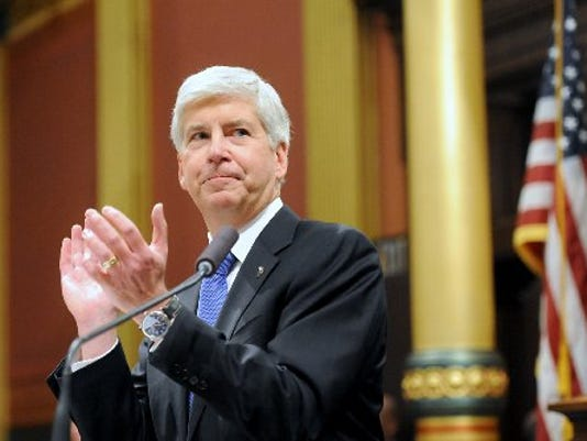 Rick Snyder state of state