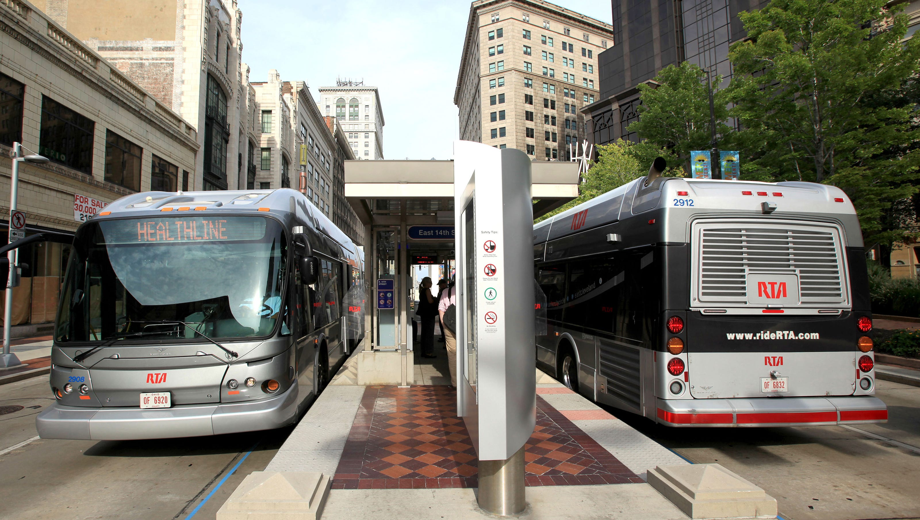 milwaukee county's brt to be built with 53% bus-only lanes.