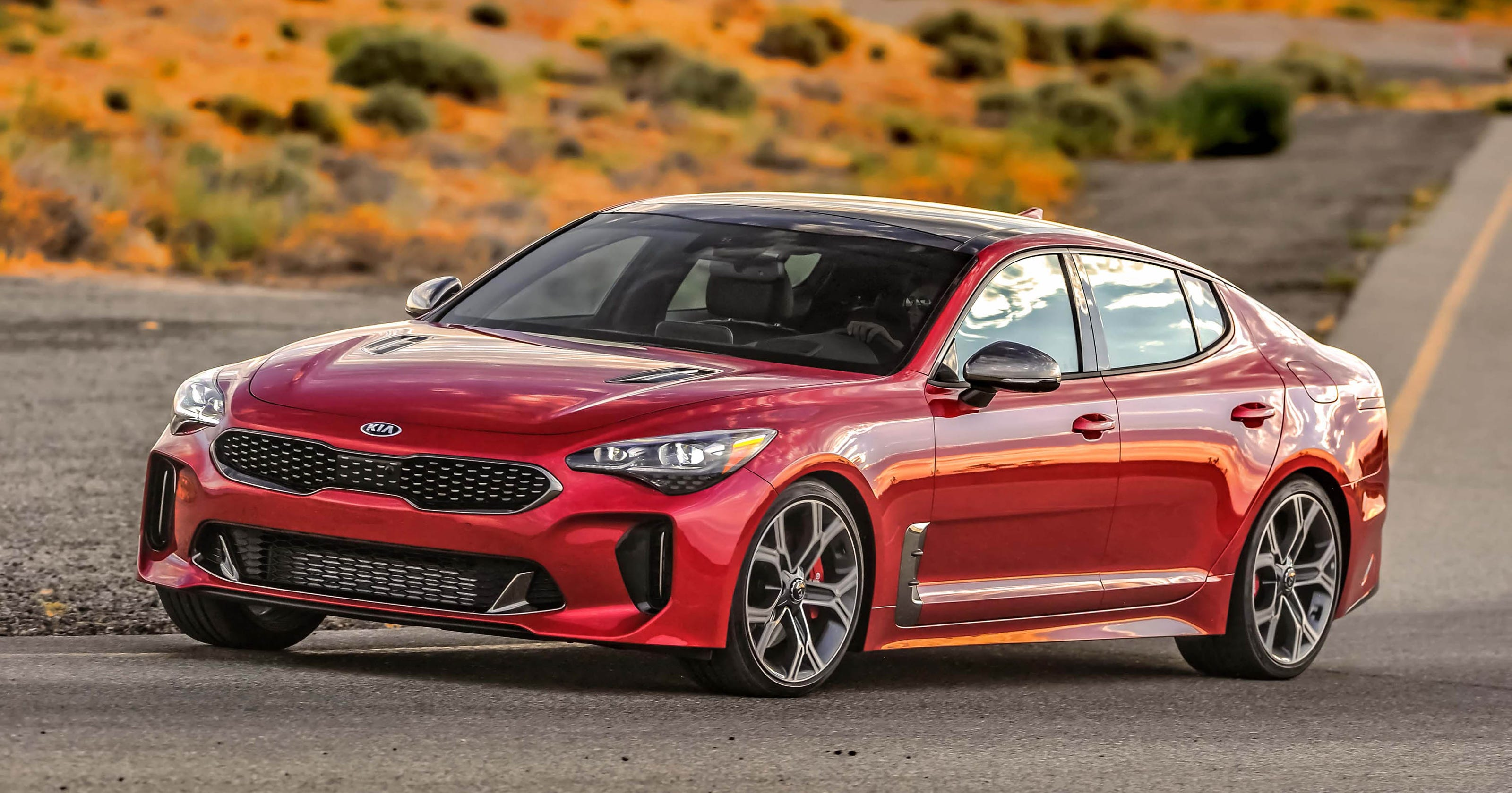 Car Review 2018 Kia Stinger Takes The Brand To A Whole New Level