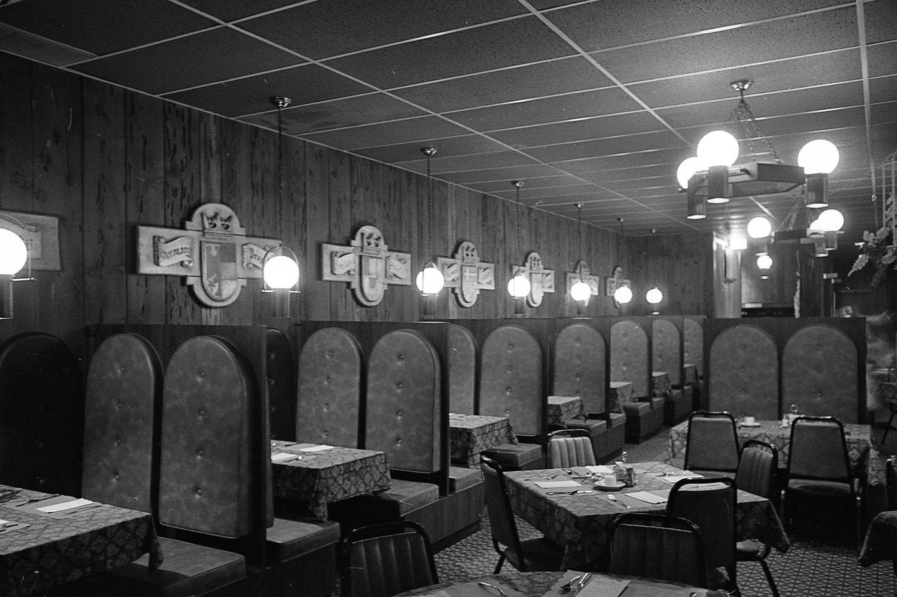 Interior Of The Pour House Restaurant In May 1972.