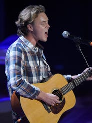Parker Millsap performs at the 2016 Americana Music