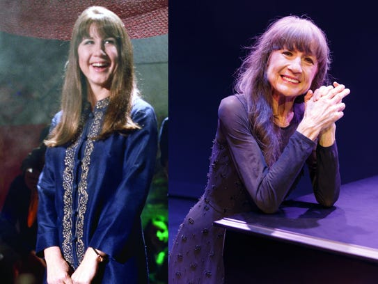Judith Durham then and now