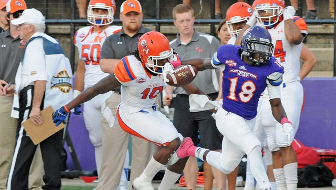 Northwestern State senior cornerback Imoan Claiborne received an invitation to the Reese's Senior Bowl on Tuesday. The Senior Bowl, scheduled for Jan. 24 in Mobile, Alabama, is one of the premier college football all-star games. Claiborne, a former standout at Alexandria Senior High and All-Cenla Defensive Player of the Year, finished with four interceptions and three fumble recoveries this past season.