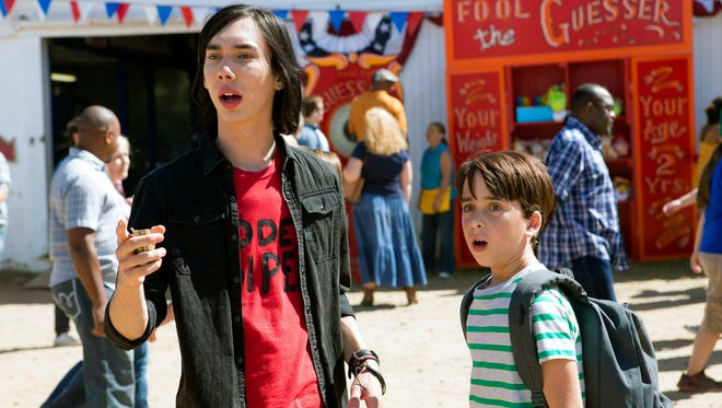 """Charlie Wright, left, and Jason Drucker star in""""Diary of a Wimpy Kid: The Long Haul."""" The movie opens Friday at Regal West Manchester Stadium 13."""