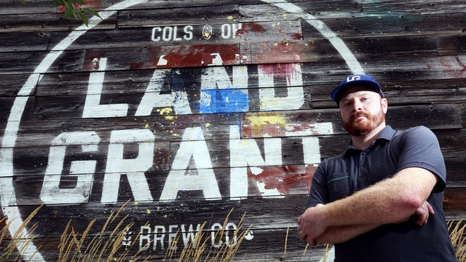 Adam Benner, president and co-founder of Land-Grant Brewing Company, credited the Ohio Craft Brewers Association for its help in securing a federal Paycheck Protection Program loan for the Franklinton brewery.