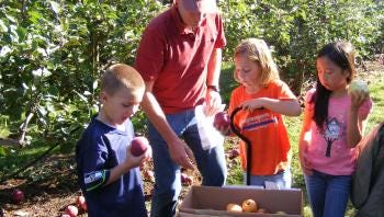 Get a taste of autumn and apples in Hood River by visiting Kiyokawa Family Orchards during Fiesta Days.