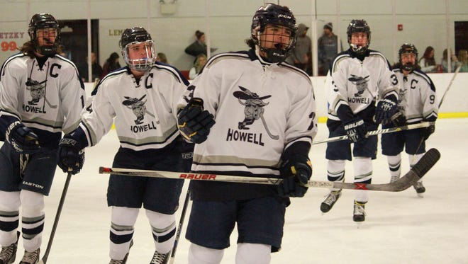 Howell ice hockey moved up to No. 4 in the APP Top 10 Poll.