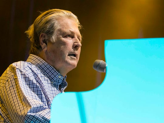Brian Wilson performs on June 26, 2015, at the Fox Theatre in Atlanta.