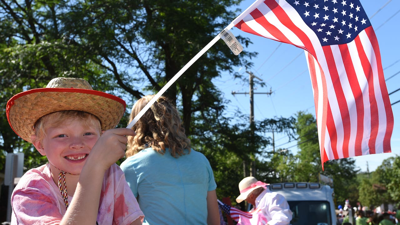 VIDEO - moments from Northville's Fourth of July Parade on Tuesday that wound its way around downtown.