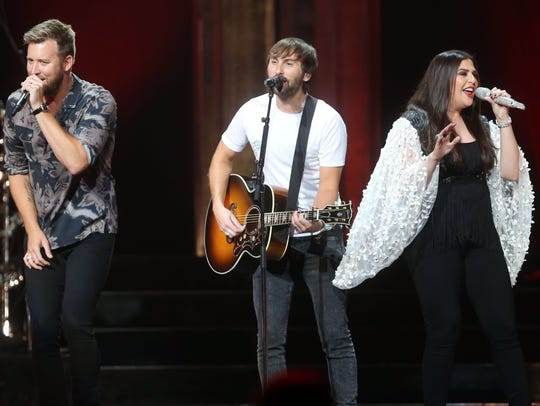 Lady Antebellum will perform at Ak-Chin Pavilion on