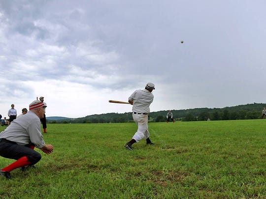 Eighteen teams from across the country will compete in Gettysburg's seventh 19th Century Base Ball Festival July 16-17.