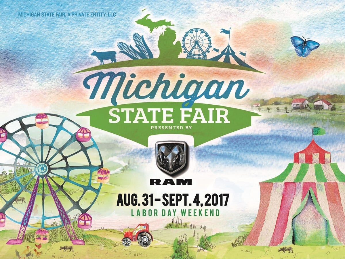 Attend the Michigan State Fair, presented by Ram Trucks on Labor Day Weekend!