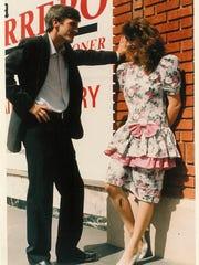 Rex Andrew, a staunch Republican, married Jennifer