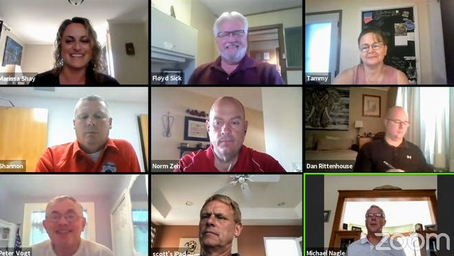 The Dansville Village Board meets via Zoom Wednesday night to discuss village business.