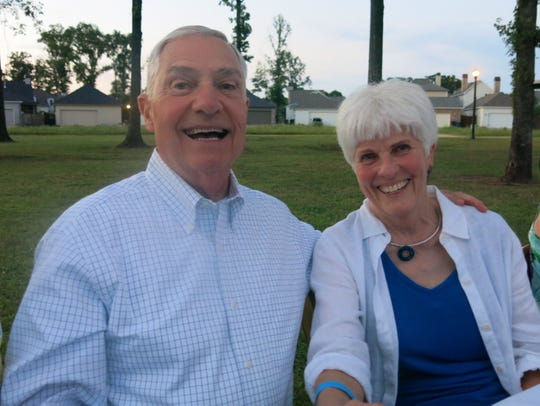 Steve and Lynn Yancey at FEAST!