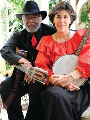 """James """"Sparky"""" and Rhonda Rucker will perform at the Louie Bluie Music & Arts Festival."""