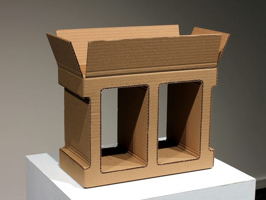 """Shanty #2"" by UNC Asheville faculty member Jackson"