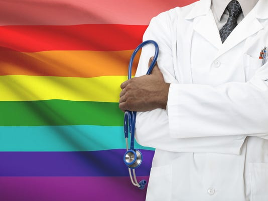 Healthcare system for LGBT. Lesbian, gay, bisexual and transgender people