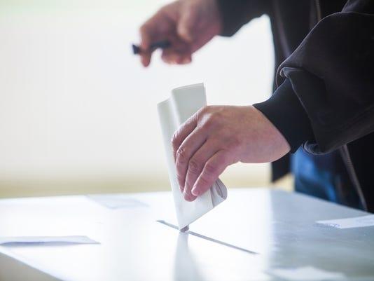 Voting hand #stockimage