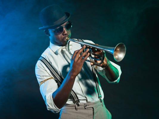 american jazz trumpet player