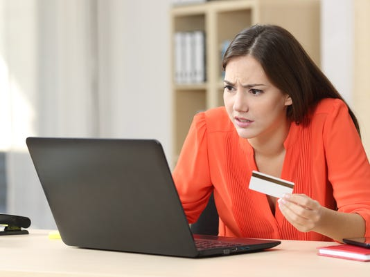 Problems buying online with credit card