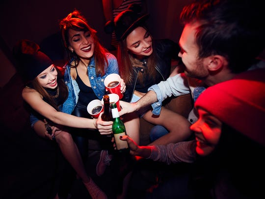 Teenage drinking is a problem for many communities.
