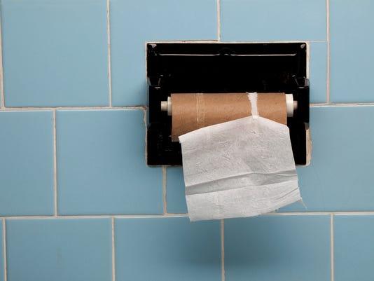 Last Piece of Toilet Paper Horizontal
