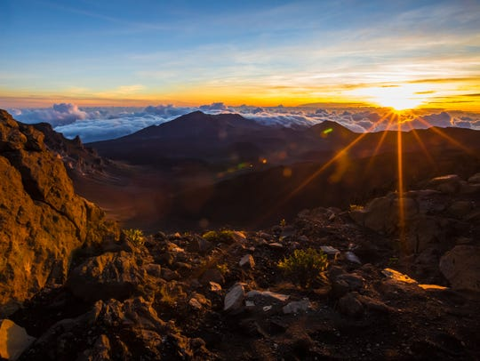 Haleakala Summit, Hawaii: Hawaii has some of the most