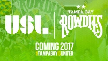 The Tampa Bay Rowdies are jumping ship on the second-division North American Soccer League (NASL) for the USL, the club announced Tuesday.