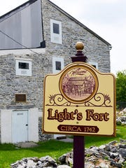 Light's Fort, the oldest standing structure in Lebanon City, is located just off the corner of 11th and Maple streets.