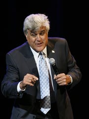 Saturday: Jay Leno at the McCallum Theatre.