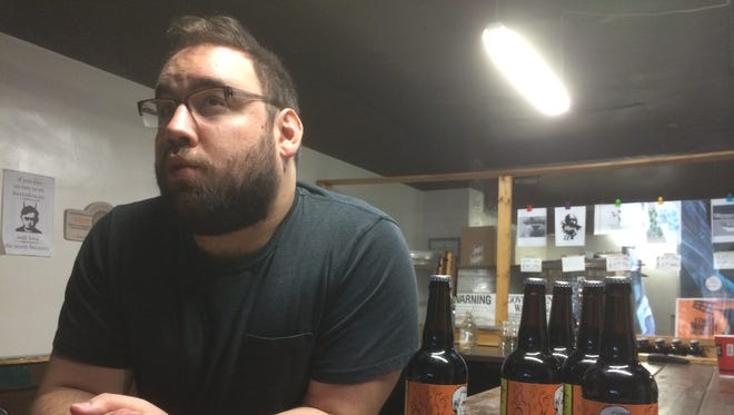 Zach Pedley, of The North Brewery in Endicott, talks about his craft beer.