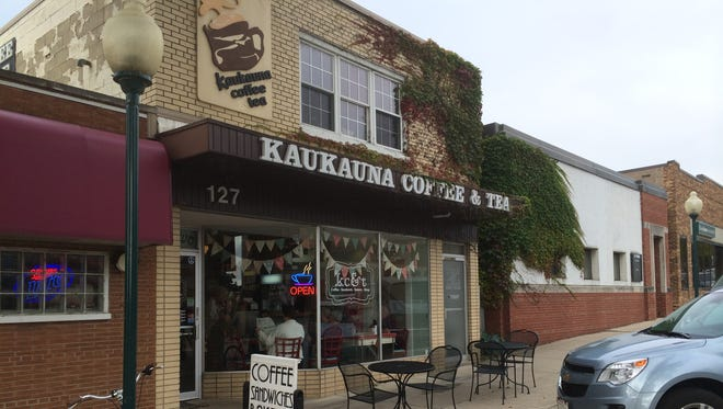 Located in downtown Kaukauna, the coffee shop has gained a loyal customer base.