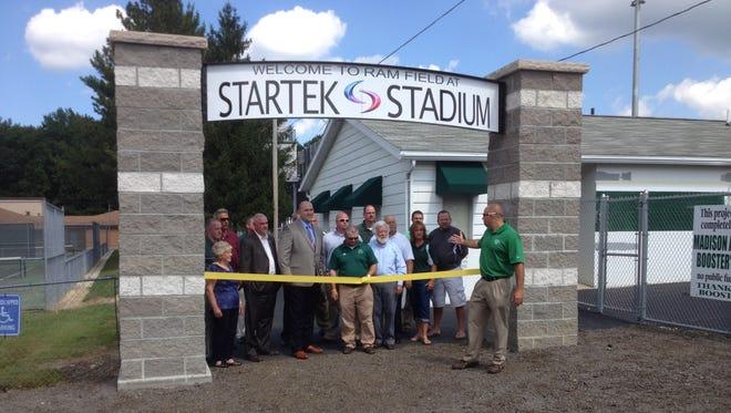 StarTek Stadium ribbon cutting